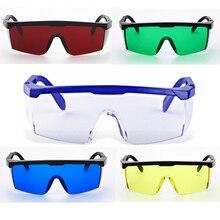 ZK40 Protective Goggles Safety Glasses Welding Glasses Green Blue Laser Protection Eye Wear Adjustable Work Lightproof Glasses