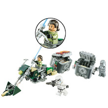 251pcs StarWars Kennans High-speed Vehicles Toys Building Blocks Set Marvel Compatible With legoings Starwars