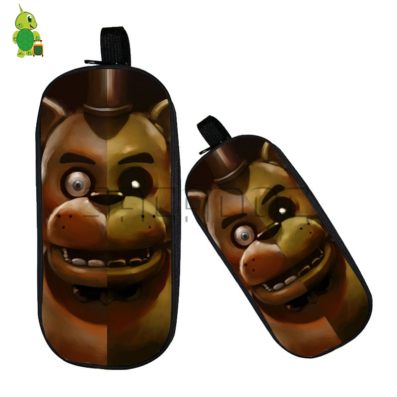 Five Nights At Freddys Freddy Split Cosmetic Case Double Layer