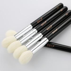 Image 2 - ביילי J01 טבעי עיזים שיער אבקת סומק מברשת להדגיש פלאפי בינוני גודל אחת איפור מברשת