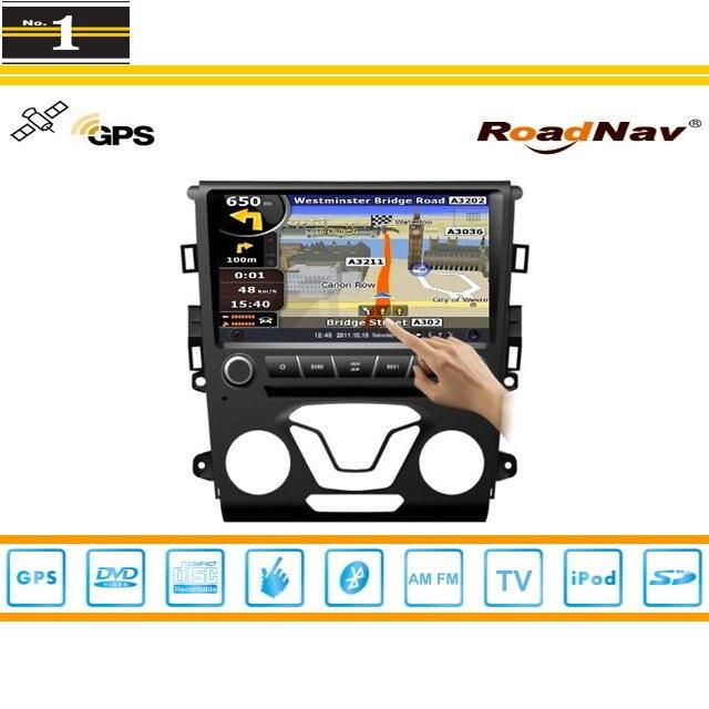 Radio de coche Para Ford Fusion 2014 ~ 2015 de Navegación GPS Estéreo Reproducto