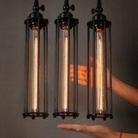 Vintage Country Retro Pendant Lights Steam Punk Industrial Style Single Head With Edison Light Bulb Corridor