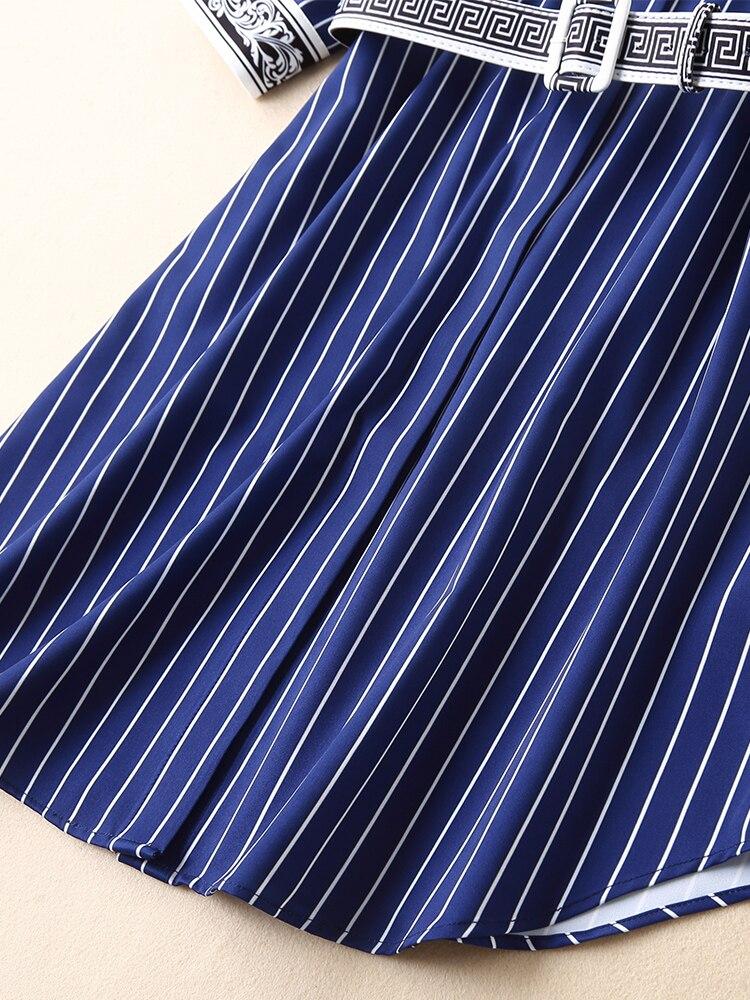 Européenne Nouvelle Partie Marque Style 2019 Mode Supérieure Luxe Femmes Robe Design Fa02145 Célèbre De Qualité Printemps EQdCxreWBo