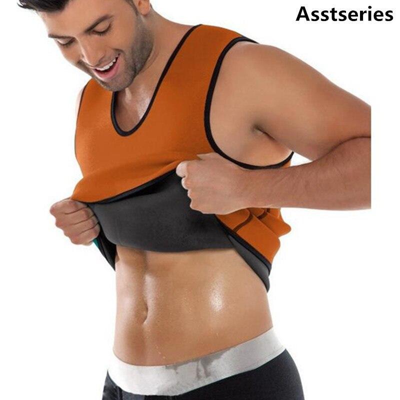 2018 Körperformer Weste Männer T-shirt Trainingsanzüge Für Gewicht Verlust Taille Gürtel Abnehmen Taille Trainer Hot Former Taille Trainer Korsett