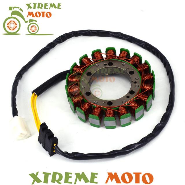 El envío Libre de La Motocicleta Del Motor Del Estator Del Magneto Generador Bobina de Carga Cables De Cobre Para XV535 VIRAGO 535 1987-2000