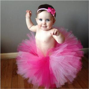 9 цветов, фатиновая юбка-пачка для маленьких девочек, многоцветная юбка-пачка для новорожденных, подарок на день рождения