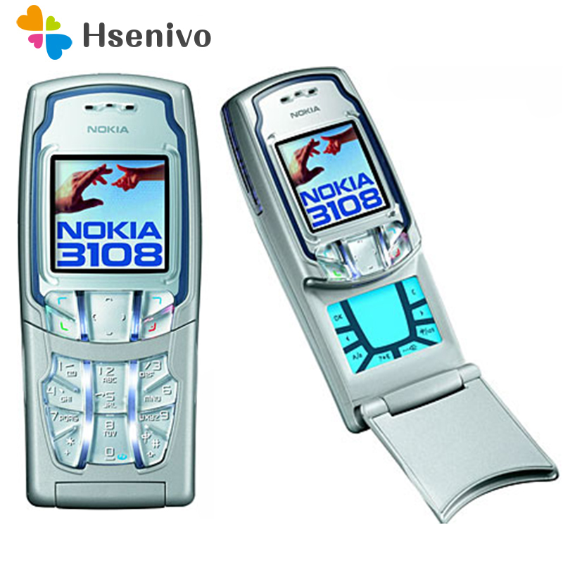 3108 100% Original Unlocked Nokia 3108 Mobile Phone 1.45inch