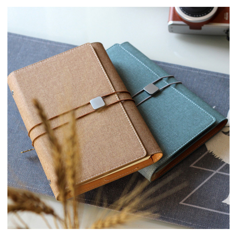 Image 2 - A5 Planner Notebook 2020 Notepad 6 rings School Stationery Diary Organizer Refill Journal Agenda executive Multi function OfficeNotebooks   -