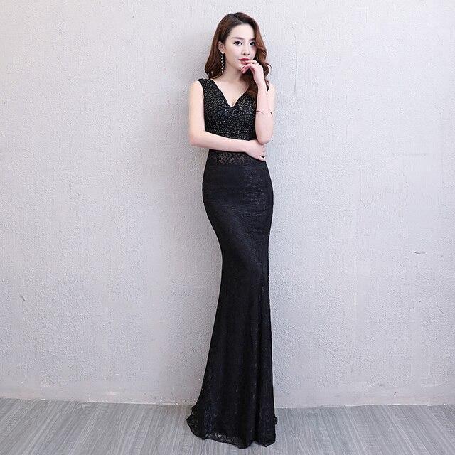 570ca9b9e8e Floor-Length Full manual Gauzy Sexy Star full Prom Evening dresses 2018  Cocktail dress Night entertainment venue dress L18003