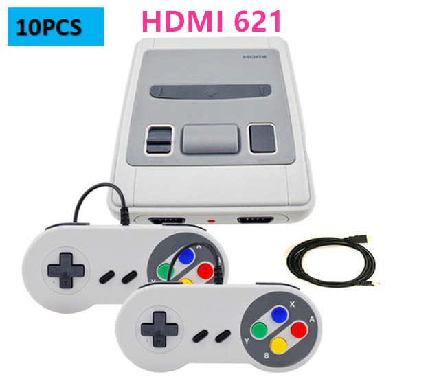 5 120PCS Low Price HDMI Retro Mini Video Game Console 621 Game Built in / TV Game Console