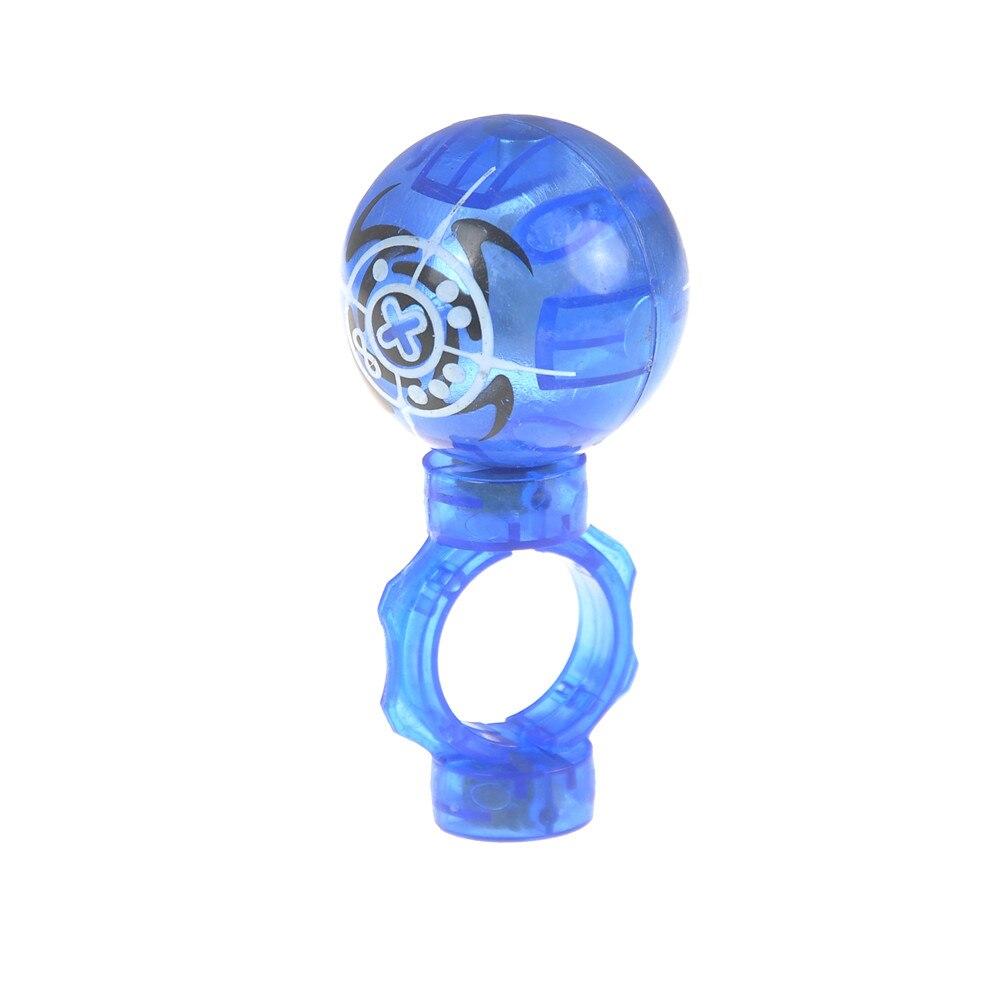 Educational Fingertips Fidget Spinner Anti Stress Random Light Fidget Spinner Luminous Magnetic Ball Toys For Children