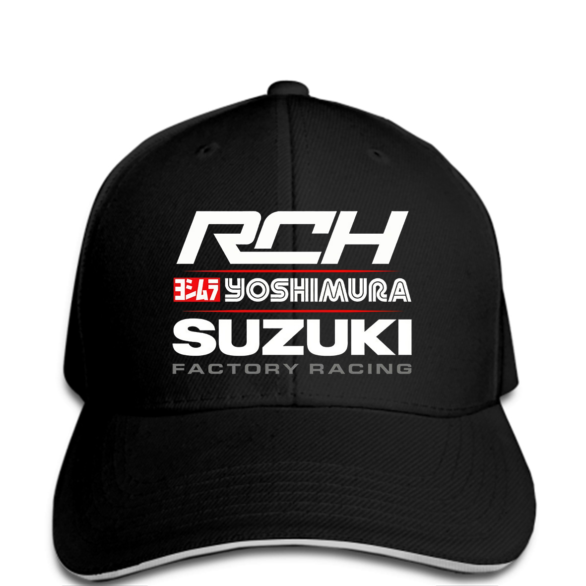 Suzuki Yoshimura Racing snapback Suzuki Hat Suzuki Rch Factory Racing Hat  Mens Fashion Casual Hat Baseball cap Cool-in Baseball Caps from Apparel ... 4a83e21d357