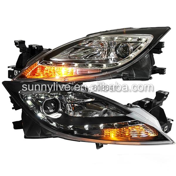 Для Mazda 6 светодиодные головная Лампа 2011 по 2012 год если