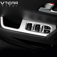 For Hyundai Creta Window Switch Cover Car Interior Mouldings Styling Door Armrest ABS Decoration Products Accessery