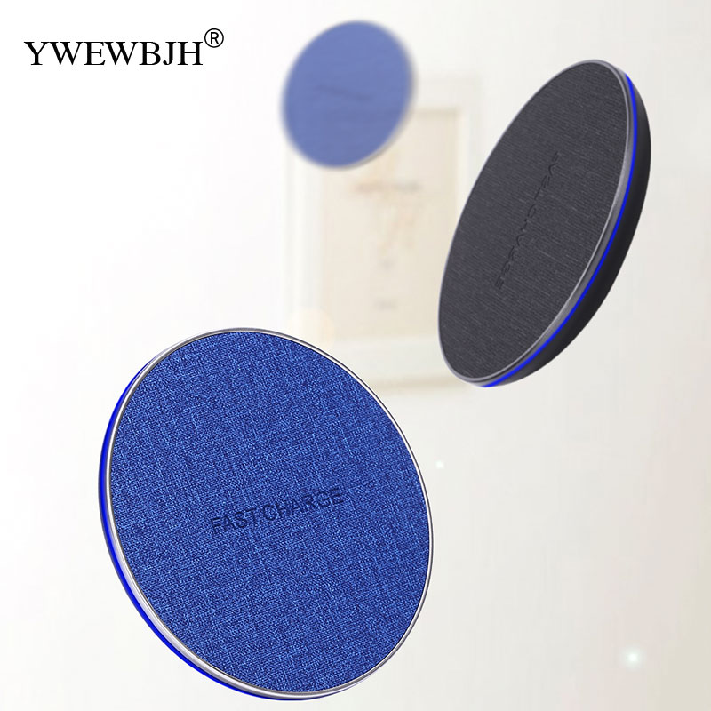 YWEWBJH 10W Qi Fast Wireless Charger For iPhone X XR XS MaX 8 For Samsung Note 8 S8 S9 Plus S7 S6 Edge Phone Wireless Charging in Mobile Phone Chargers from Cellphones Telecommunications