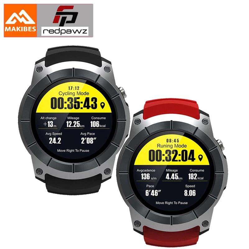 Bluetooth 4.0 Makibes G05 GPS Sports Watch 1.3 Color Screen Smart Watch multi-sport Smartwatch built-in GPS MTK2503 цена 2017