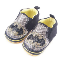 Baby boy with diamond step shoes soft bottom bats five - angle star captain Toddler shoes spring fall xz92