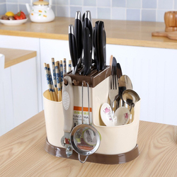 Creative Multifunctionele Keuken Opslag Rack Chopstick Lepel Vork Servies Organiseren Houder Grote Capaciteit Afdruiprek