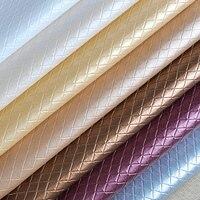 100x135cm Diamond Lattice PVC Leather Meter For Car Seats Eco Leather Auto Fabrics Cover Material Leather