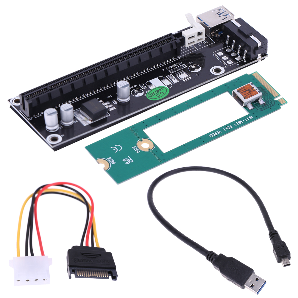 USB3.0 Mini PCI-E to PCI-E PCI 1x to 16x Extender Converter Riser Card Port with SATA 6Pin Power rs232 to rs485 converter with optical isolation passive interface protection