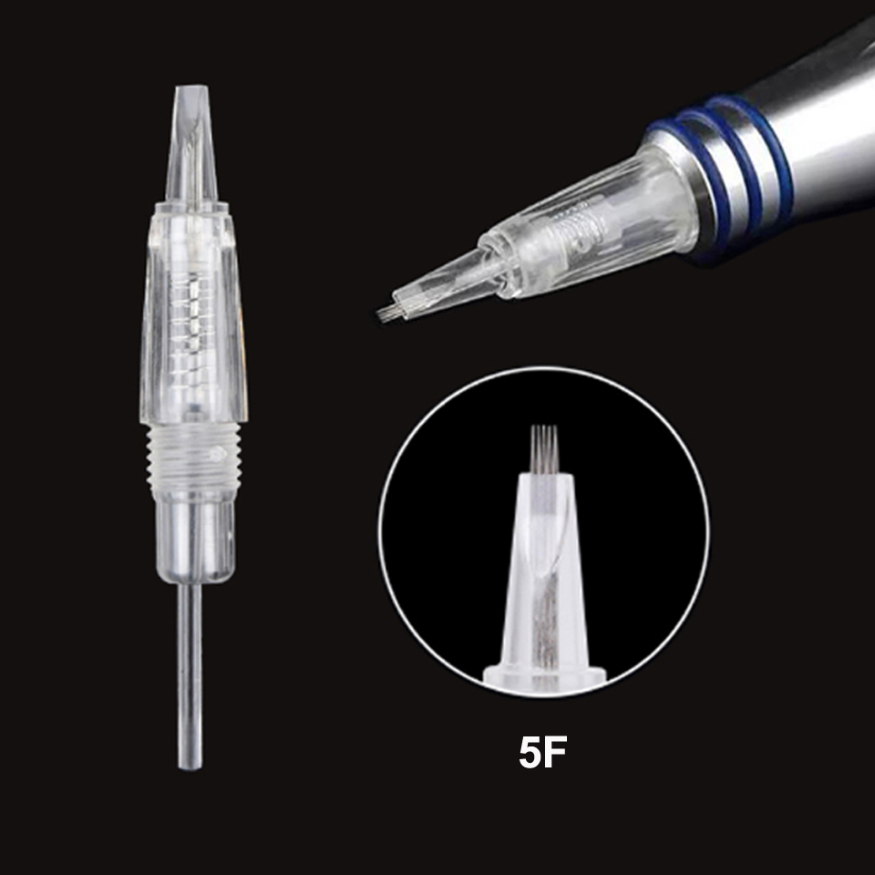 Image 4 - 10pcs/lot Disposable Screw Tattoo Needle Cartridge For Premium Charmant Permanent Tattoo Machine 1RL 1D 2RL 3RL 3F 5RL 5F 7RL 7F-in Tattoo Needles from Beauty & Health
