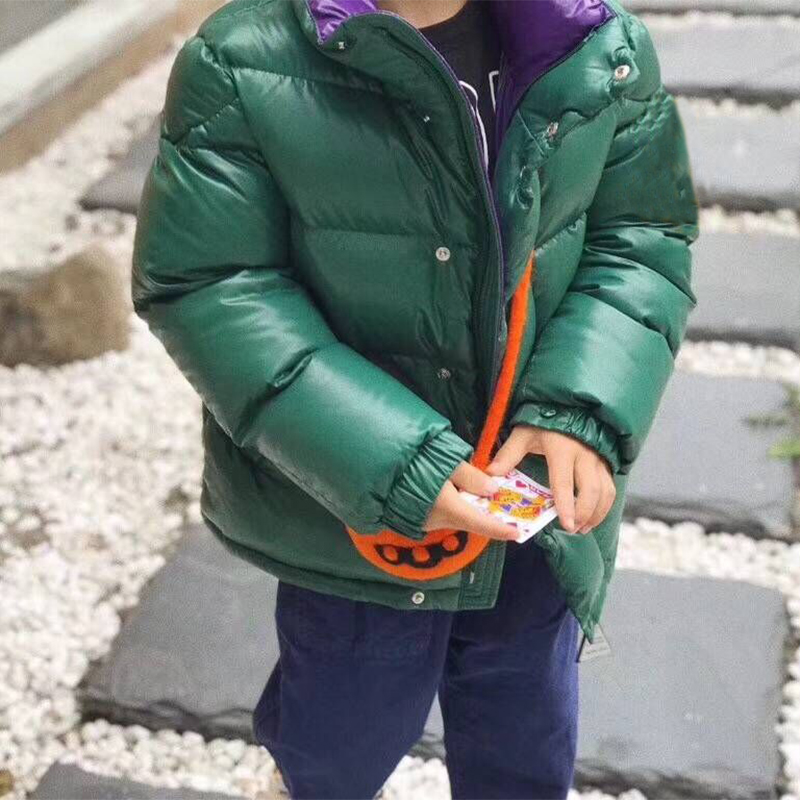 kid down jackets hooded duck down clothes for boys girls autumn winter warm outwear overcoat