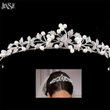 купить CR133 2016 HOT Elegant Sparkly Crystal Rhinestone Crown Tiara Girl princess Headband wedding Headband дешево