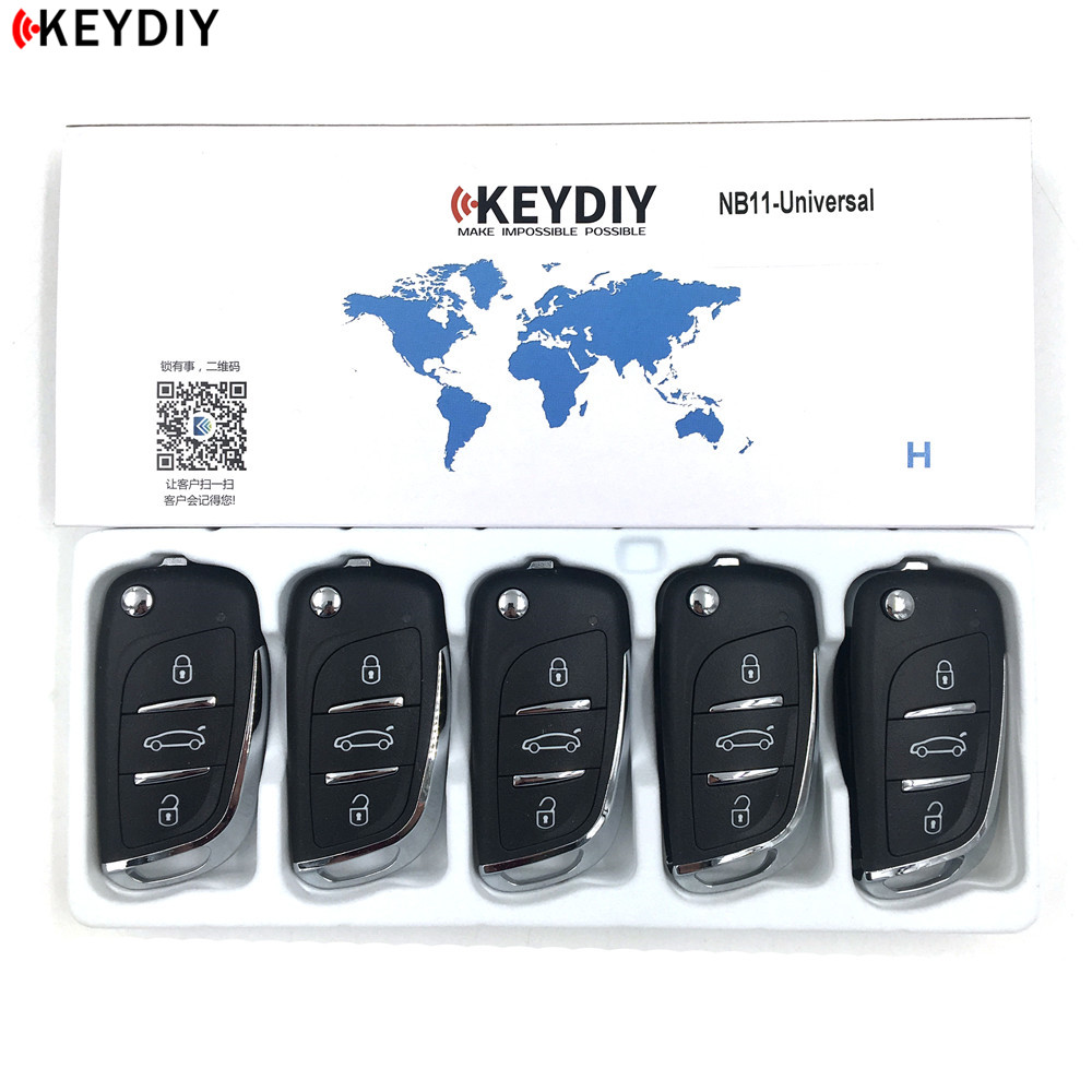 KEYDIY 5pcs lot KD900 Key Programmer NB11 Universal Multi functional DS Style Remote Suitable For All