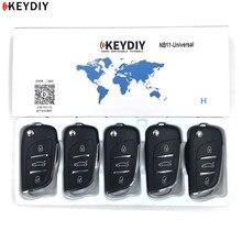 KEYDIY 5/10 sztuk KD900/KD X2 klucz programujący NB11/NB11 2 uniwersalny wielofunkcyjny styl DS pilot zdalnego sterowania do wszystkich B i z serii NB