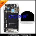 Бесплатная доставка Для Samsung Galaxy Note 3 n9005 n900A N900 Оригинальный ЖК Планшета Ассамблеи с рамкой