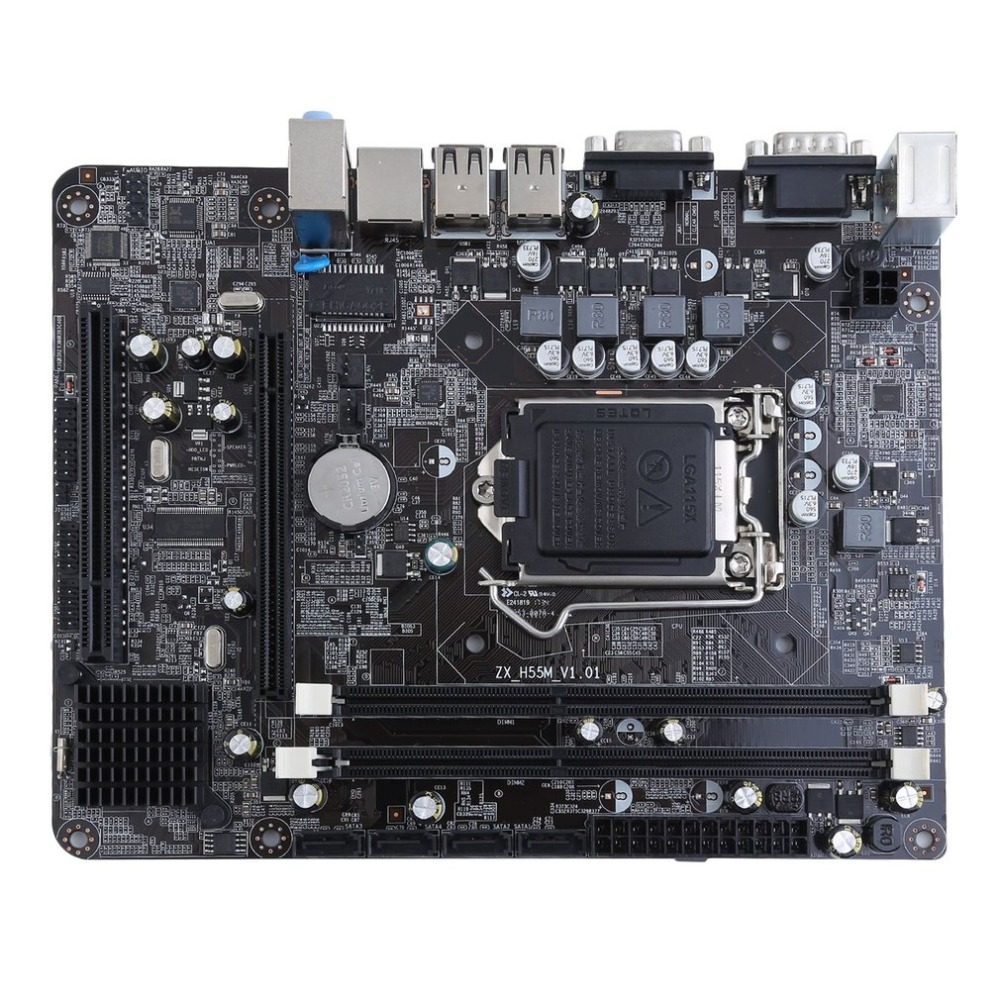 Professional Motherboard for H55 LGA 1156 DDR3 RAM 16G Board Desktop Computer Motherboard 6 Channel Mainboard msi original zh77a g43 motherboard ddr3 lga 1155 for i3 i5 i7 cpu 32gb usb3 0 sata3 h77 motherboard