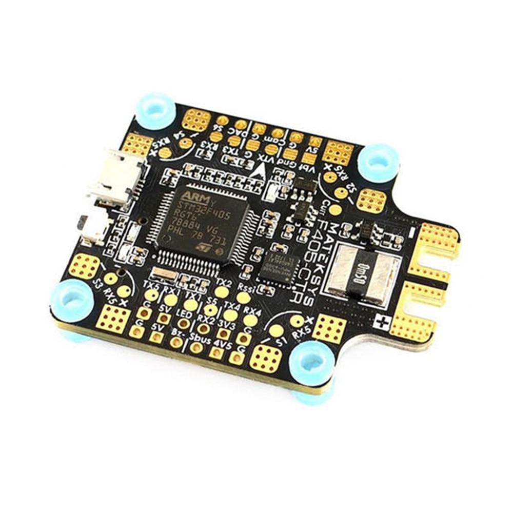 Matek Systèmes BetaFlight F405-CTR Vol Contrôleur Intégré L'APB OSD 5 V/2A BEC Courant Capteur pour RC Drone Pour RC Multicopter
