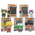 Funko pop juguetes para niños mini dragon ball anime son goku piccolo vegeta freezer shahrukh vinilo pvc action figure collection modelo