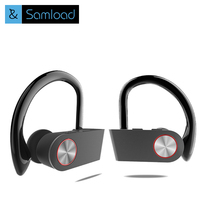 Samload Bluetooth Earphone Wireless Headphones IPX5 Waterproof Sports Earphone For Phone IPhone Xiaomi Samsung With Mic