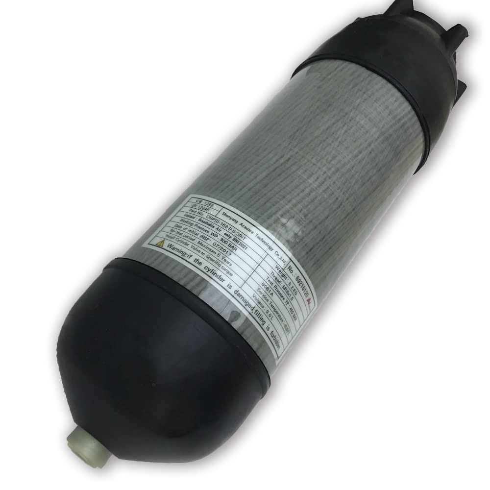 AC9090 cilindro de gas 9L HP protector de tanque de fibra de carbono copa de goma equipo de buceo cubierta de cilindro de gas Drop Shipping 2019