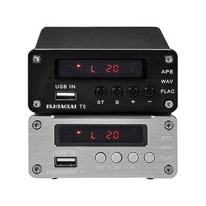 Image 5 - PJ. MIAOLAI SP3306AL APE lecteur de musique sans perte HiFi fièvre amplificateur numérique optique Coaxial décodeur numérique amplificateur de sortie