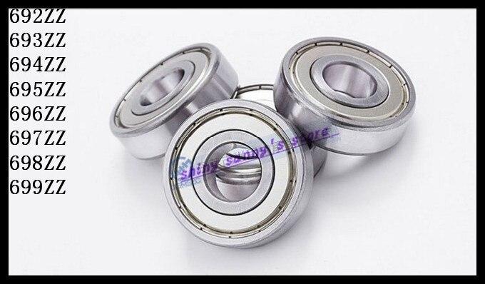 10pcs/Lot 694ZZ 694 ZZ 4x11x4mm Mini Ball Bearing Miniature Bearing Deep Groove Ball Bearing бриджстоун дуэлер 694 в екатеринбурге