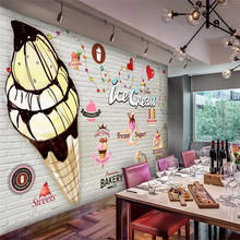 3d wallpaper mural fashion brick wall ice cream shop gourmet tooling background wall advanced waterproof material 42crmo material press brake upper tooling