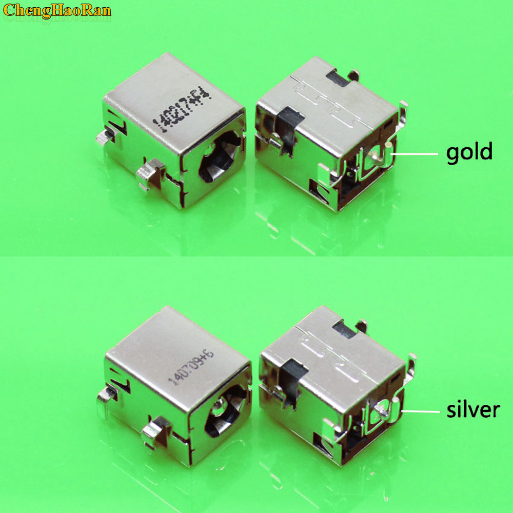 Silver 1pc Dc Power Jack Connector For Asus Laptop A52 A53 K52 K52f K52jr K53e K53s K53sv K53ta K42 K42j K42jc K42jr K42d Quality First Back To Search Resultscomputer & Office Responsible Gold