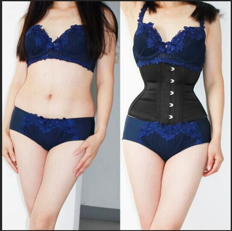 2568b3325f ... Fast Slimming 3-7 Inches Off Waist Annzley Waist Training Underbust  Corset For Women ...