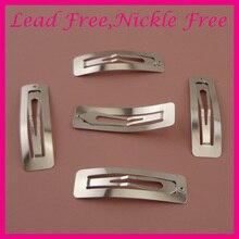 50 шт. 6,0 см серебряные Простые прямоугольные металлические заколки для волос не содержит свинец и никель, женские аксессуары для волос заколки для девочек