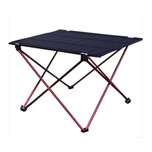 2017 Outdoor Folding Table Ultra-light Aluminum Alloy Structure Portable Camping Table Furniture Foldable Picnic Table Oxford