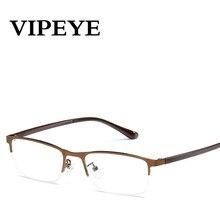 VIPEYE New Simples Armação de Metal óculos de Leitura Óculos de Mulheres  Homens Moda Unissex Óculos de Leitura Muito Leve E Conf. 13c2018466