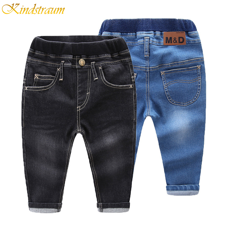 Kids Jeans Trousers Pants Baby-Boys/girls Denim Style Fashion for Cotton 2-Colors DC075
