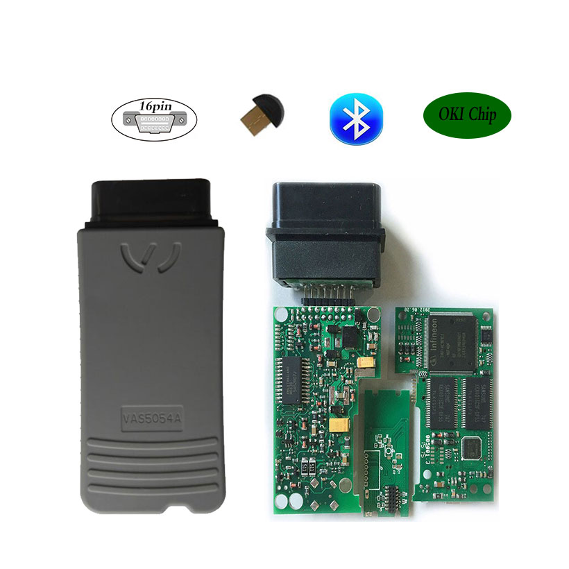 VAS5054A Oki Full Chip VAS 5054A ODIS v3.0.3 OBD2 Diagnostic-Tool Scanner VAS5054 Support UDS VAS 5054 OBD 2 Car Diagnostic Tool