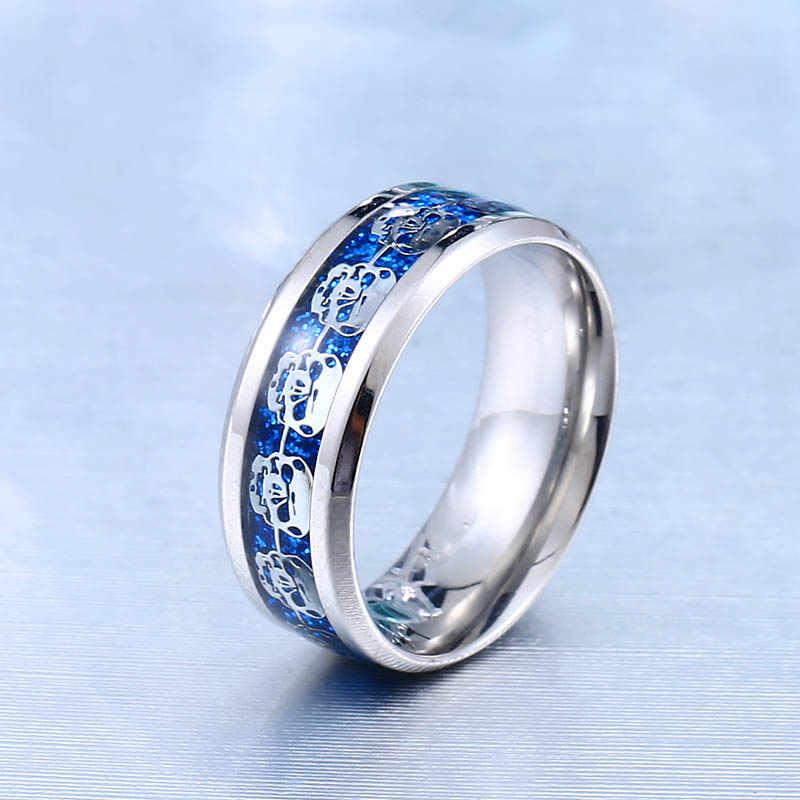 Beierร้านใหม่316Lสแตนเลสแหวนแหวนกะโหลกศีรษะสำหรับผู้ชาย/ผู้หญิงแหวนbikerร็อคที่เรียบง่ายหางแหวนแฟชั่นเครื่องประดับWR-R080