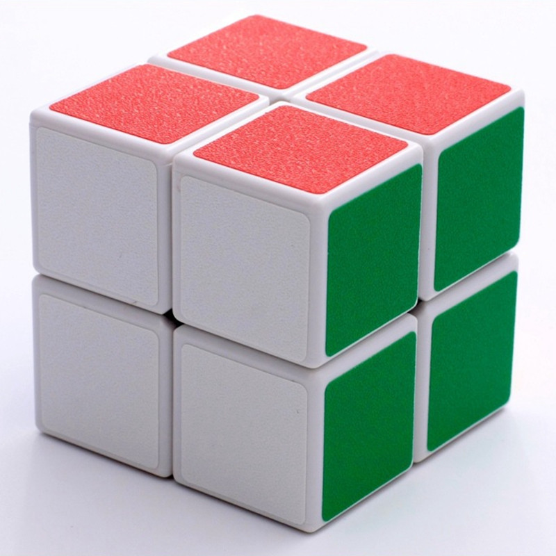 2018 Style 2x2x2 Stickers Magic Cube Toy Basic Speed Cubo Magico Children Educational Puzzle Square Toy Brain Teaser MF219