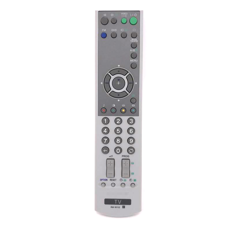 New Original For Sony TV Remote Control RM-W112 Ersatzfernbedienung Controller Tested Fr ...