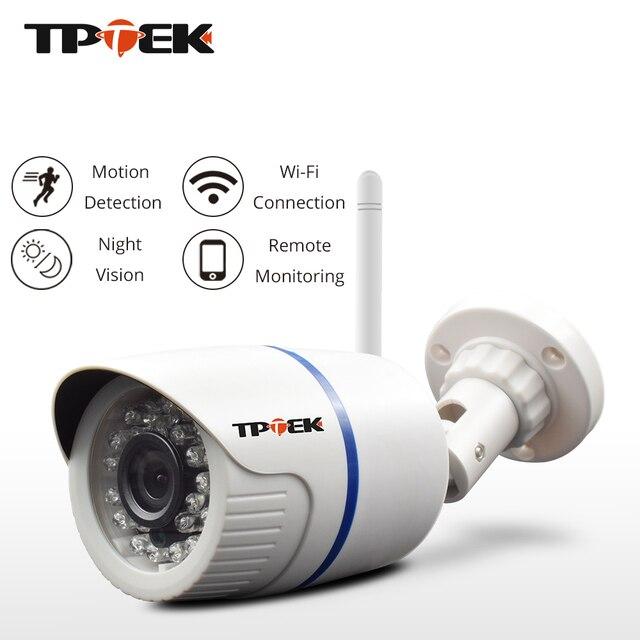 HD 1080 p IP מצלמה חיצוני WiFi אבטחת בית מצלמה 720 p 960 p אלחוטי מעקב Wi Fi Bullet עמיד למים IP Onvif לנטנה מצלמת
