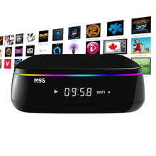 16G S912 Octa Core Smart M9S MIX TV BOX Android 6.0 KODI 16.1 Fully Loaded 4K BT media player